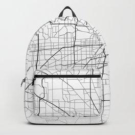 Houston street map Backpack