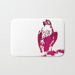 Extruded Falcon Bath Mat
