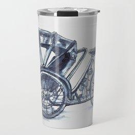 rickshaw bike Travel Mug