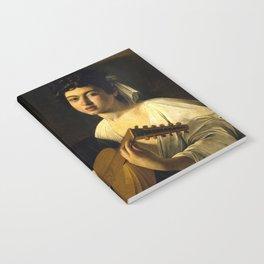 """Michelangelo Merisi da Caravaggio """"The Lute Player"""" Notebook"""