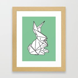 Bunny or 兔子 (Tùzǐ), 2014. Framed Art Print