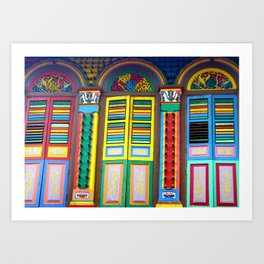 Windows to the World Art Print