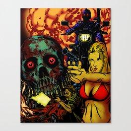 Bullet Orgy Canvas Print