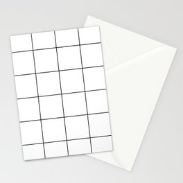 Grid Stationery Cards