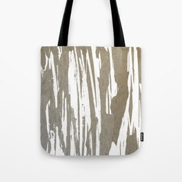 Abstract Taupe Splash Design Tote Bag