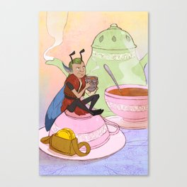 The Fairy and the Thimble Canvas Print