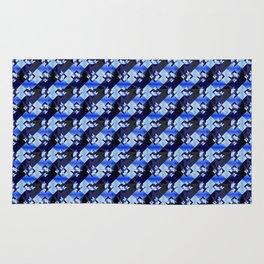 Blue Diamonds Rug