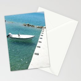 Boat In Nafplio Stationery Cards