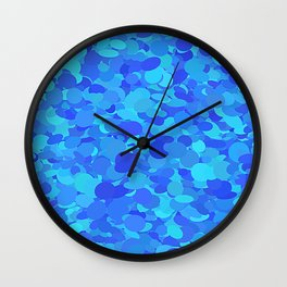 Blue chips Wall Clock