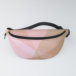 Sun Light - Soft Geometric Abstract Drawing Fanny Pack