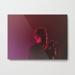 pink is the only true rock and roll color Metal Print