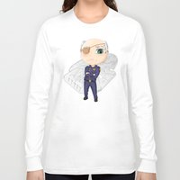 battlestar Long Sleeve T-shirts featuring Colonel Tigh | Battlestar Galactica by The Minecrafteers