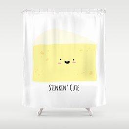 Stinkin' cute Shower Curtain