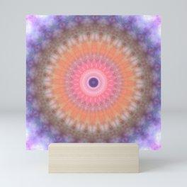 Mandala human psyche Mini Art Print