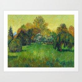 The Poet Garden Art Print