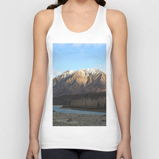 Blue Creek, Alaska Unisex Tank Top