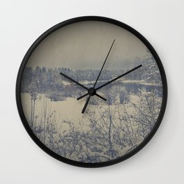 Winterland Wall Clock