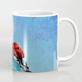 Flirt - Ladybug On Dandelion Coffee Mug