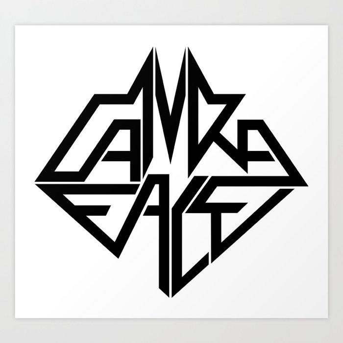 CamRaFace Logo for T-Shirts Art Print