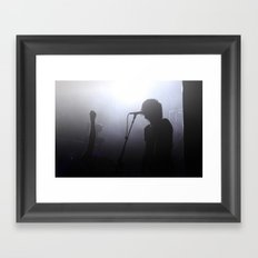 Let There Be Rock Framed Art Print