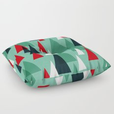 Abstract Forest by Friztin Floor Pillow