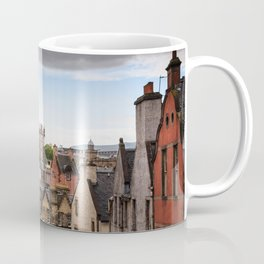View of Edinburgh architecture from Victoria Street Coffee Mug