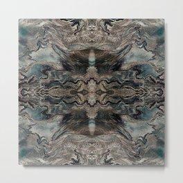 Realistic premium marble luxury design for home decoration Metal Print