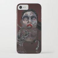 scorpio iPhone & iPod Cases featuring Scorpio by Sammy Cee