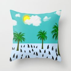 Urlaub Throw Pillow