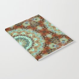 Bohemian Snowflake Notebook