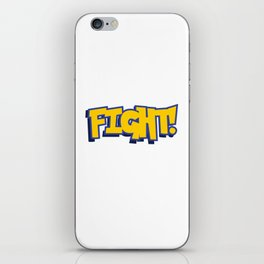 Figh Poke iPhone Skin