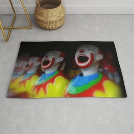 Laughing Clowns Rug