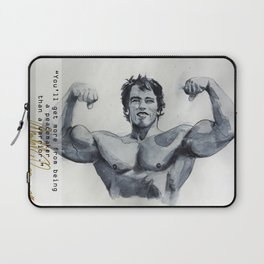 Arnold the peace maker Laptop Sleeve
