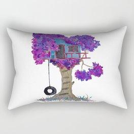Treehouse I Rectangular Pillow