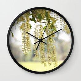 Lacy Curtain Wall Clock