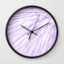 Lavender. Pixel Wind Wall Clock