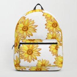golden daisy maze Backpack