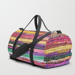 Patchwork Duffle Bag