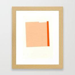candy sandwich Framed Art Print