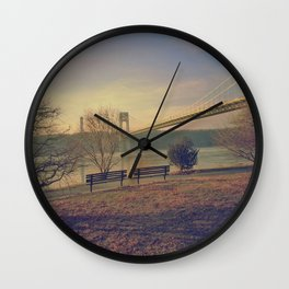 Lonely days Wall Clock