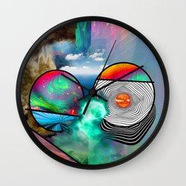 abstract life Wall Clock