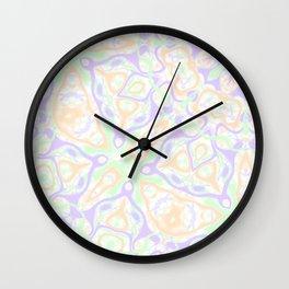 Pastel Kaleidoscope 2 Wall Clock