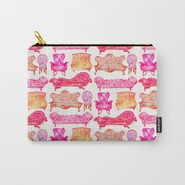 Victorian Lounge – Pink Palette Carry-All Pouch