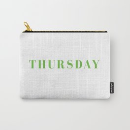 Tshirt Of The Week: Thursday Carry-All Pouch