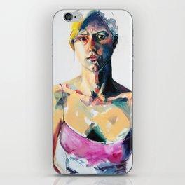 Portrait of Eileen Grogan iPhone Skin