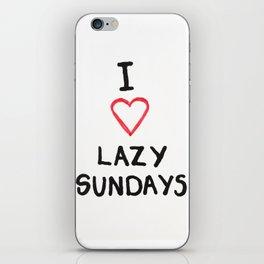 Lazy Sundays iPhone Skin