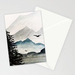 Mountains Majesty Stationery Cards
