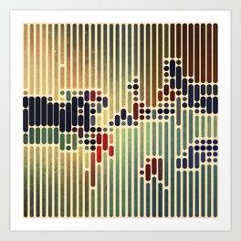 ColorCode Art Print
