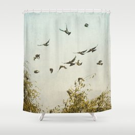 A Feeling of Change Shower Curtain
