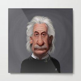 Celebrity Sunday ~ Albert Einstein Metal Print
